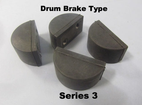 Lambretta Fork Buffer Set for Series 3 Drum Brake - 15060070