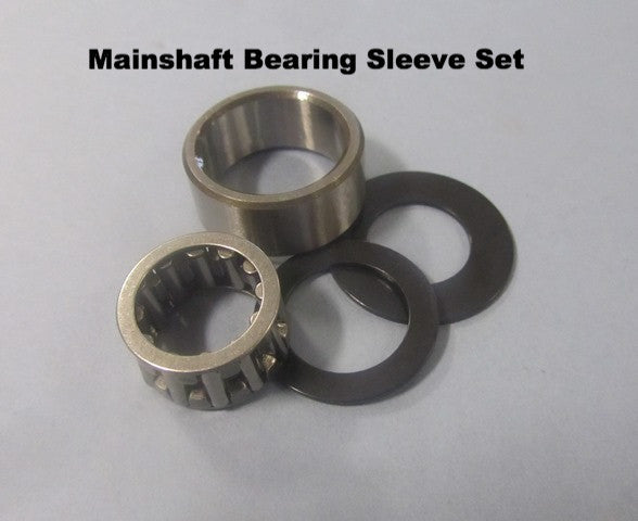 Lambretta Main Shaft Gear Cluster Needle Bearing Bushing Sleeve and Shim Set 19030040