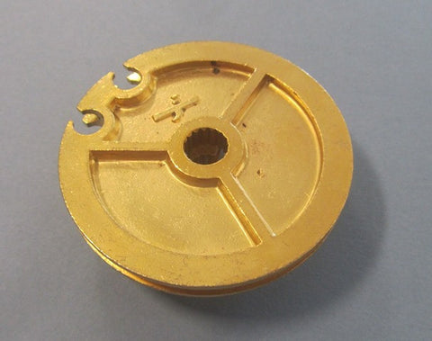 Lambretta brass gear roller pulley (1502014) - Scootopia