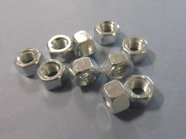 Lambretta zinc M6 deep sidecase nut (72000006) pack of 10