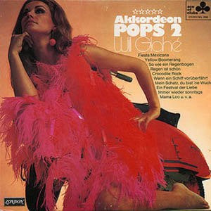 Will Glahe Akkordion Pops 2 LP Record - Lambretta Collectible