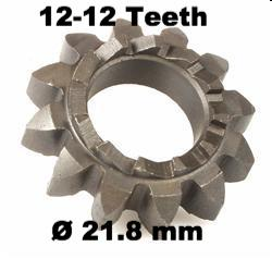 Vespa Kickstart Gear 12-12 Teeth - 89229100