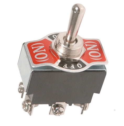 Three Position Double Pole Double Throw Toggle Switch ON - OFF - ON For Serveta Indicator Signals