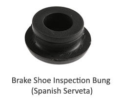Lambretta Brake Shoe Inspection Bung - Spanish Serveta