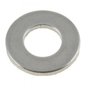 Flat Washer Stainless Steel & Zinc: Various Sizes from $0.05 ea