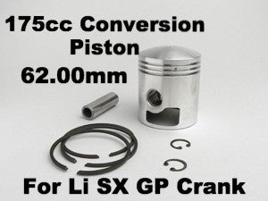 Lambretta 175 Conversion Piston (for Li/SX/GP cranshaft) GOL 175 cc 62.00mm - 8002183