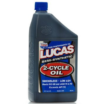 Lucas Semi-Syth 2-Cycle Oil - 946ml Bottle