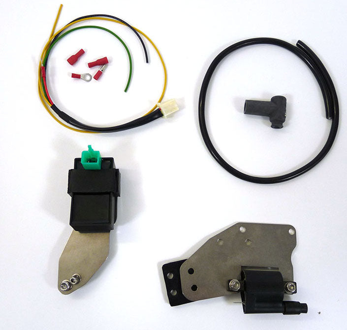 Lambretta Electronic Ignition Coil Pack Kit by MB - Scootronics