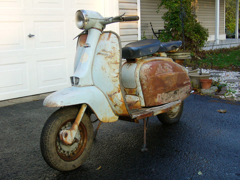 Lambretta Li 125 Riverside For Sale - Ottawa Ontario Canada - PRIVATE SALE