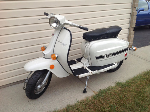 Lambretta Serveta 150 For Sale - Kingston Ontario $6000 CAD $4550 USD