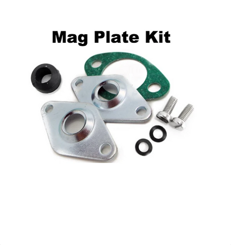 Lambretta Mag Housing Wiring Plate Kit - Standard Diameter Hole for Electronic Wiring