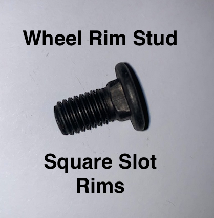 Lambretta Wheel Rim Stud with Square Slot  NOS