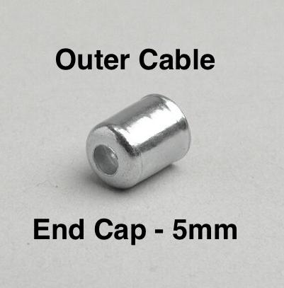 Universal Cable Outer End Cap 5mm   4350021