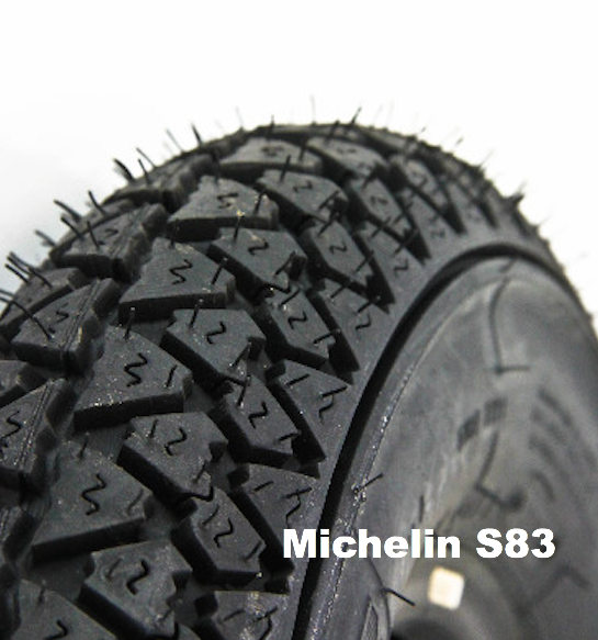 Michelin S83 Classic Scooter Tire Tyre  3.50 X 10
