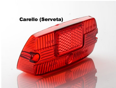 Lambretta Tail Lamp Rear Lens Carello Series 3