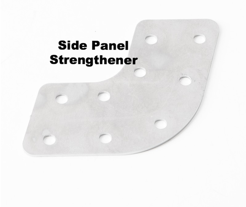 Lambretta Stiffener Plate For Side Panel (Weld In Place) - Each.