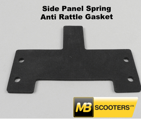 Lambretta Side panel clip anti rattle gasket Late Series 3 and Serveta MB Developments - 7671811