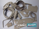 Lambretta LI125 & 150 series 3 grey body rubber set - Scootopia