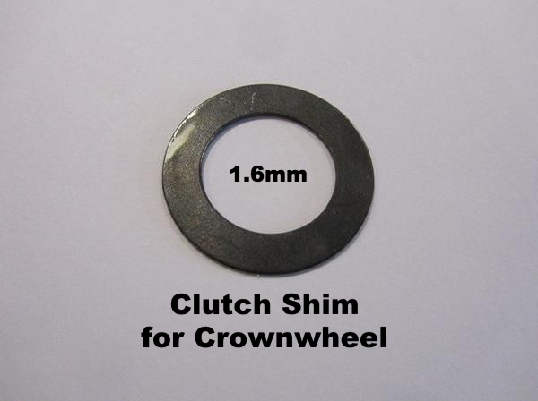 Lambretta Clutch Shim for Crownwheel 1.6mm - 19020035