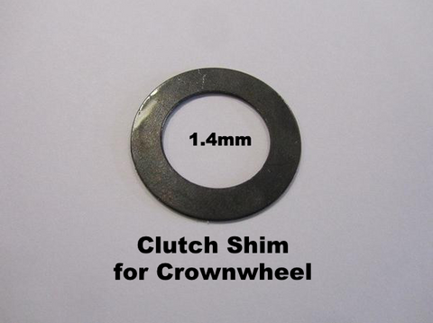 Lambretta Clutch Shim for Crownwheel 1.4mm - 19020034