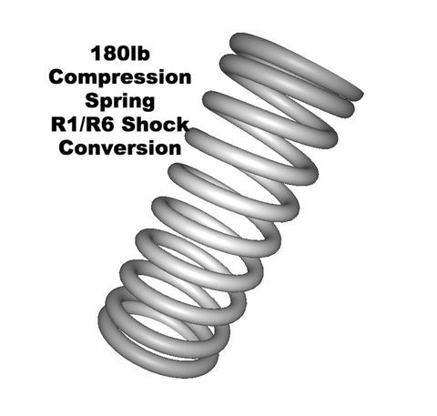 Lambretta Rear Shock Compression Spring for Yamaha R1 / R6 Conversion -73198