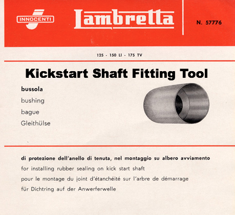 Kickstart Shaft Fitting Tool