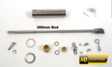 Lambretta Headset Throttle Side Internal Rod Kit for Early Spanish Lambretta 300mm rod - MBP0543K