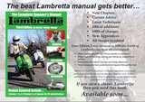 PRE ORDER FOR The Complete Spanner's Manual: Lambretta Scooters by Martin 'Sticky' Round (Author) Third Edition
