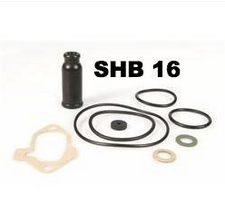 Vespa Carb Gasket Set DELL`ORTO for carburettor SHB 16