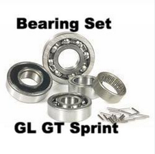 Vespa Engine Bearing Set by SIP for GL GT Sprint - 90001700