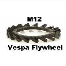 Vespa Flywheel Fanwheel Lock Washer M12 - 012555 - 87280000