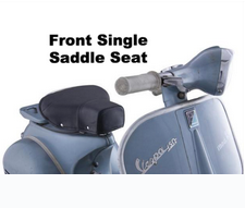 Vespa Front Single Saddle Seat