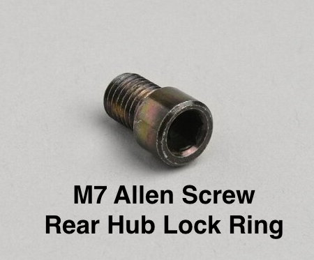 M7 Allen Screw for Lambretta Rear Hub Nut Securing Plate Lock Ring  19045015 8010330