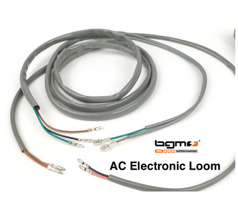 Lambretta Wiring Loom GREY BGM PRO for AC Eletronic Ignition