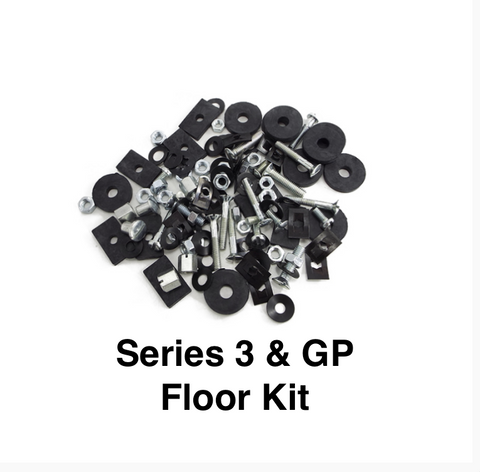 Lambretta Series 3 and GP Floor Fixing Kit   Scootopia