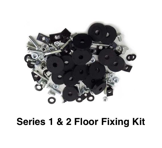 Lambretta Series 1 and 2 Floor Fixing Kit Scootopia