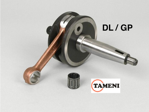 Lambretta DL/GP Crankshaft by TAMENI RACING 58mm stroke 107mm conrod   8070002