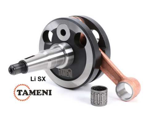Lambretta Li and SX Crankshaft by TAMENI Racing 58mm Stroke 107mm Conrod  8070000N