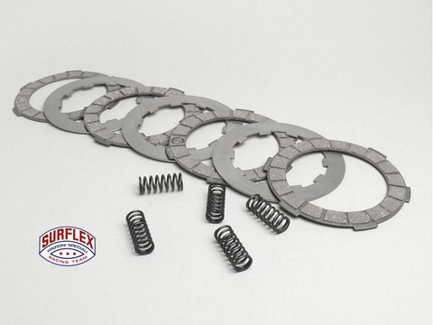 Lambretta Clutch Plate Set by SURFLEX with Springs and Steel Plates   8003151