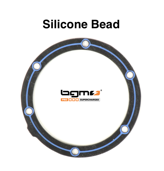 Lambretta Magneto Mag Flange Gasket with Silicon Bead  BGM1220MAP 19010015