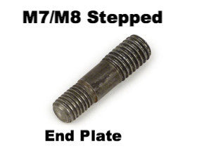 Lambretta Stud M7 to M8 For Repair of End Plate and Exhaust Threads