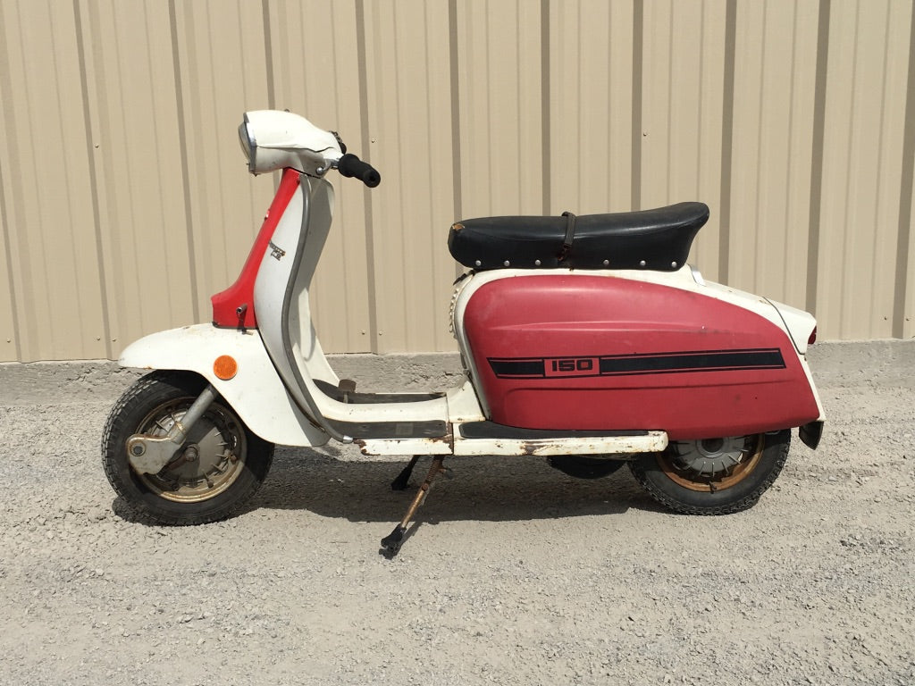 1974 Lambretta Serveta Li 150 Special for sale Ottawa Ontario PRIVATE SALE $1799.00