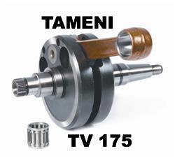 Lambretta TV175 Crankshaft by TAMENI RACING 58mm Stroke 116mm Conrod  45230000