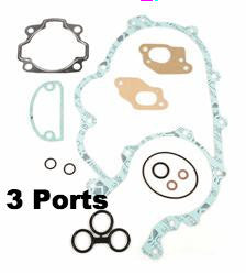 Vespa Gasket Set 3 Large Frame Port Engines - PIAGGIO 92015000
