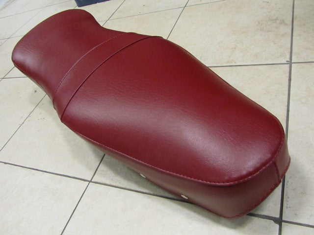 Lambretta Dual Bench Seat Cover by Tutto Lambretta- Oxblood Red  LI, LI S, SX, TV 19655150