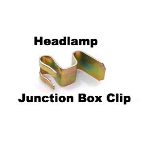 Lambretta Headlight Bulb Junction Box Holder Clip - MBL0247