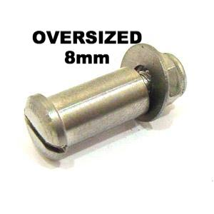 Lambretta Oversized Lever Pivot Bolt by MB DEVELOPMENTS   Stainless Steel 8900009 19062002 MBP0094K each