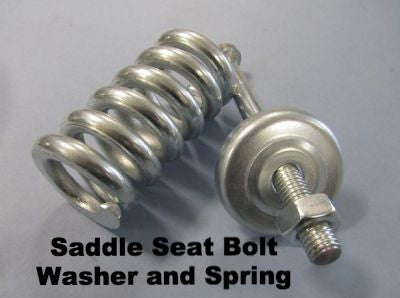 Lambretta Saddle Seat Bolt Washer and Spring Set