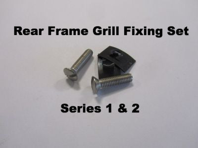 Lambretta Rear Frame Grill Fixing Set for Series 1 & 2  - 71480418