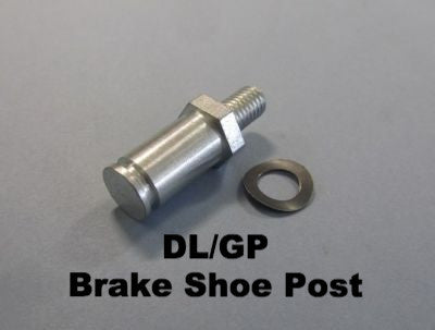 Lambretta DL/GP Brake Shoe Post and Washer - 19510057